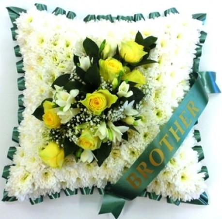 Funeral Cushion Any Colour spray