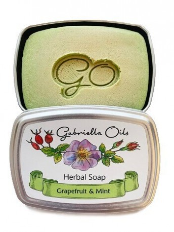 Gabriella Oils Herbal Gift Soap - Grapefruit and Mint