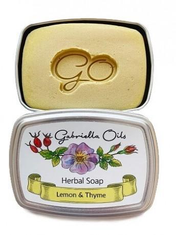 Gabriella Oils Herbal Gift Soap - Lemon & Thyme
