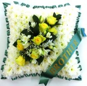 Funeral Cushion Any Colour spray