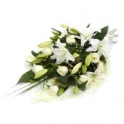 Bereavement Roses and lilies