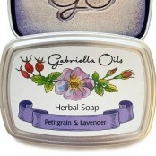 Gabriella Oils Herbal Gift Soap - Petitgrain and Lavender