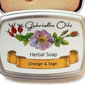 Gabriella Oils Herbal Gift Soap - Orange and Sage