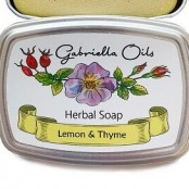 Gabriella Oils Herbal Gift Soap - Lemon & Thyme