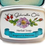Gabriella Oils Herbal Gift Soap - Bergamot & Marjoram